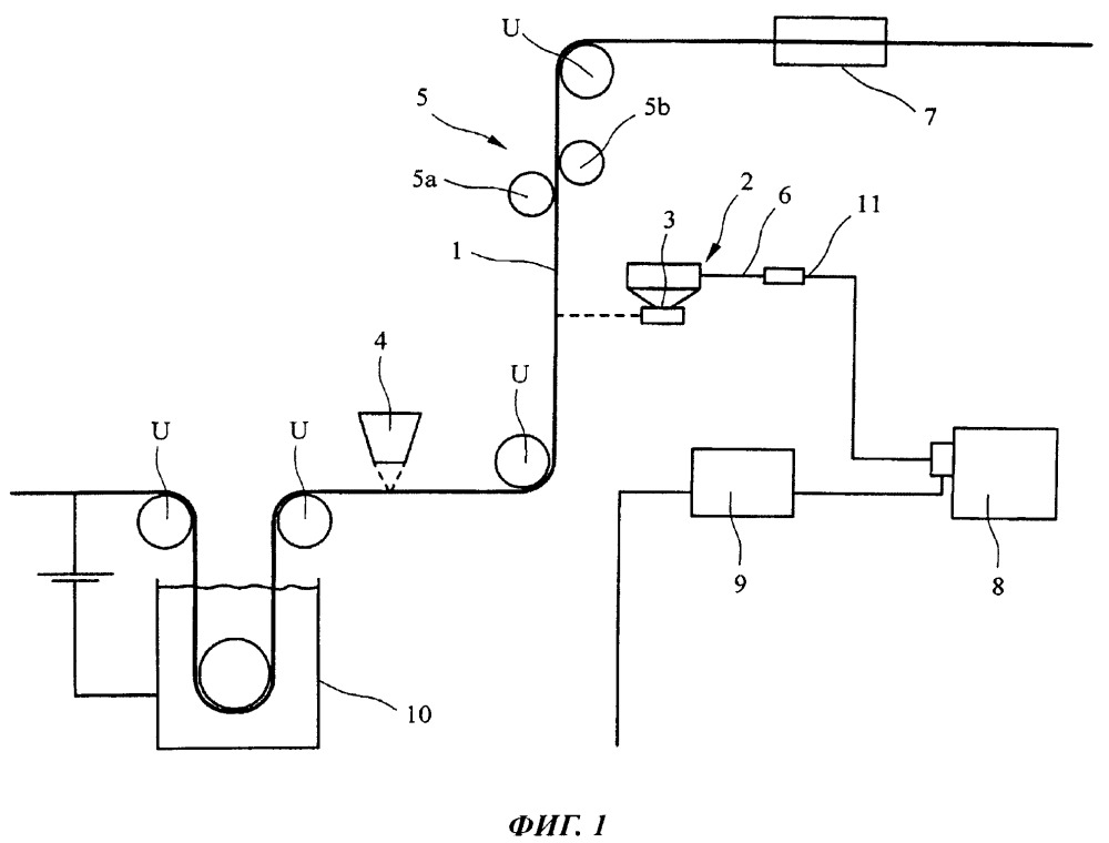 Способ и устройство для нанесения обрабатывающего водного раствора на поверхность движущейся стальной ленты