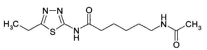 Производные 5-этил-2-амино-1, 3, 4-тиадиазола, обладающие обезболивающей, противовоспалительной, противоаллергической и анальгетической активностями