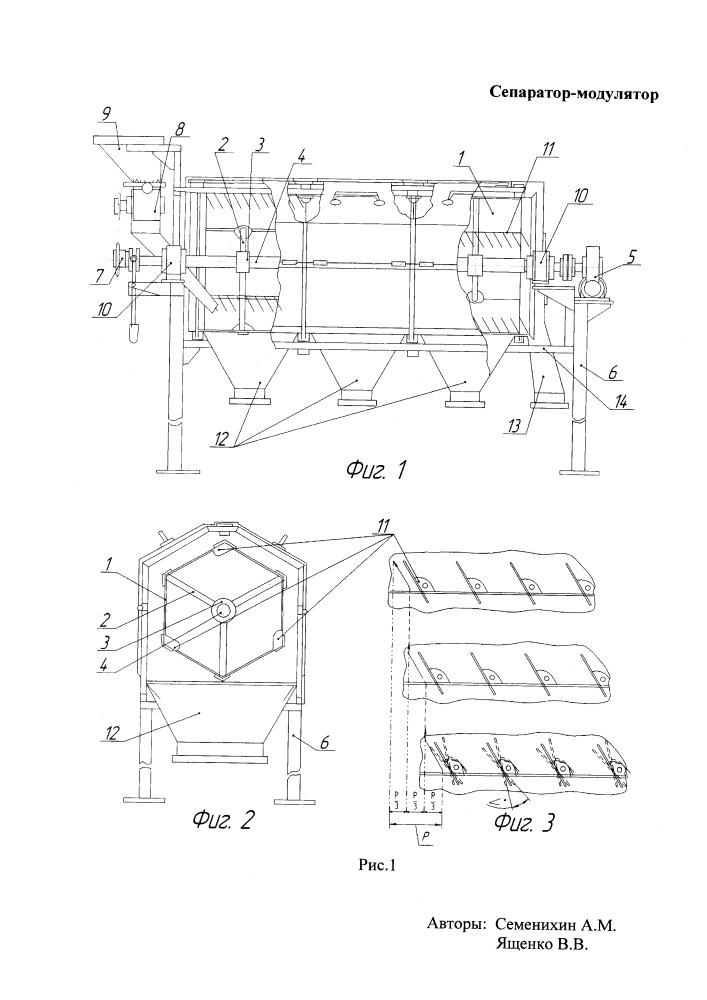Сепаратор-модулятор