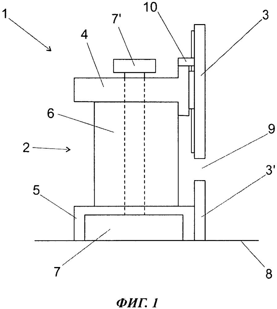 Способ регулировки модуля боковой стенки и модуль боковой стенки