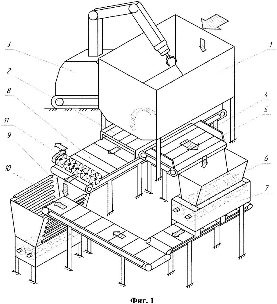Технологический модуль первичной переработки