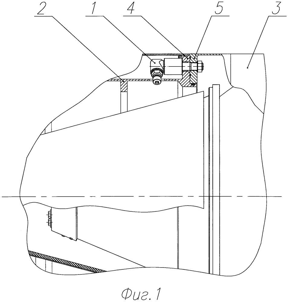 Система отделения отсека летательного аппарата