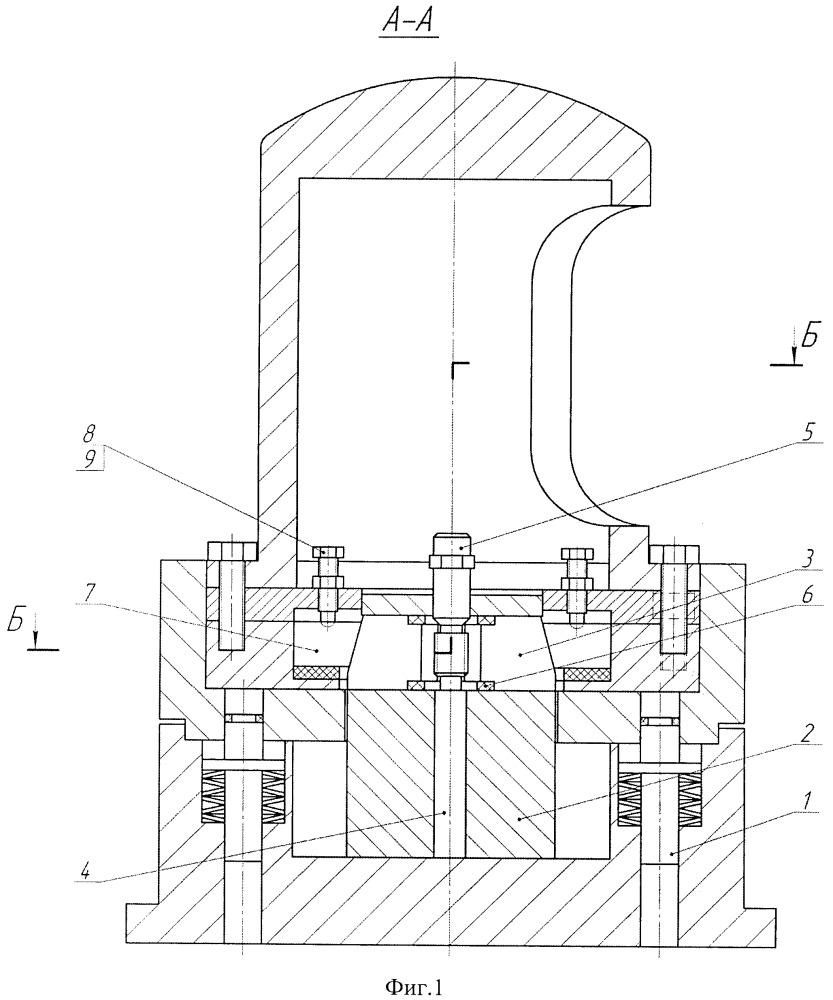 Способ прецизионной наладки устройства для радиального формообразования шлицев на заготовках валов