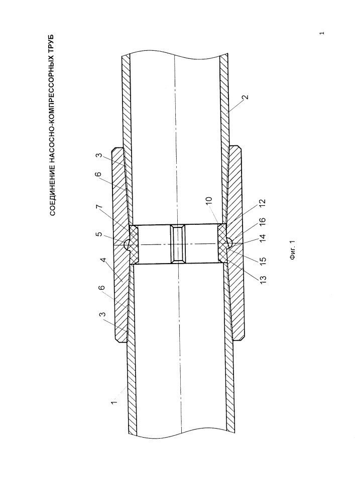 Соединение насосно-компрессорных труб
