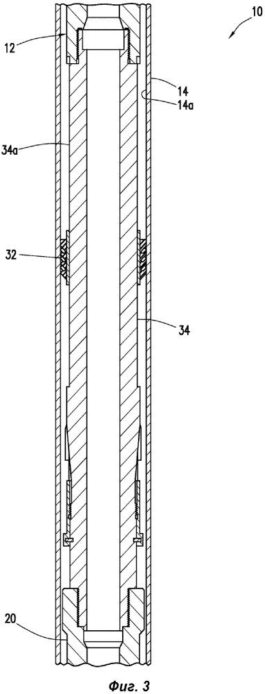 Скважинное отклоняющее устройство с практически сбалансированным по давлению кольцевым уплотняющим узлом