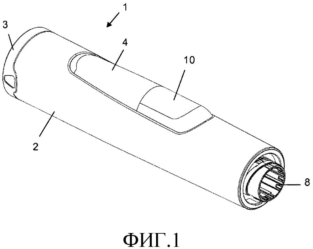 Шприц-ручка с оконным элементом