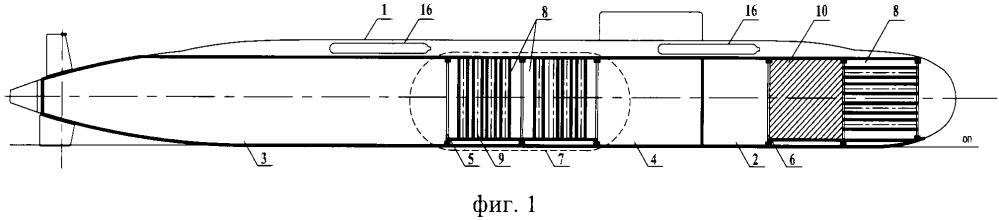 Исследовательская необитаемая малая подводная лодка
