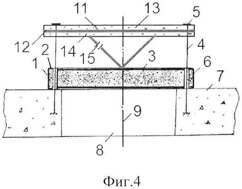 Противовзрывная панель с комбинированным демпфирующим элементом