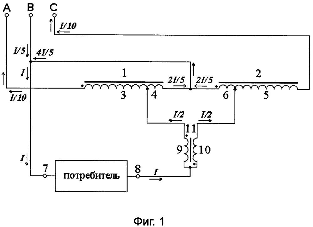 Устройство для межфазного распределения тока (варианты)
