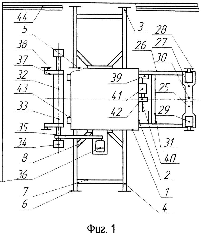 Машина для укладки керамогранитной плитки