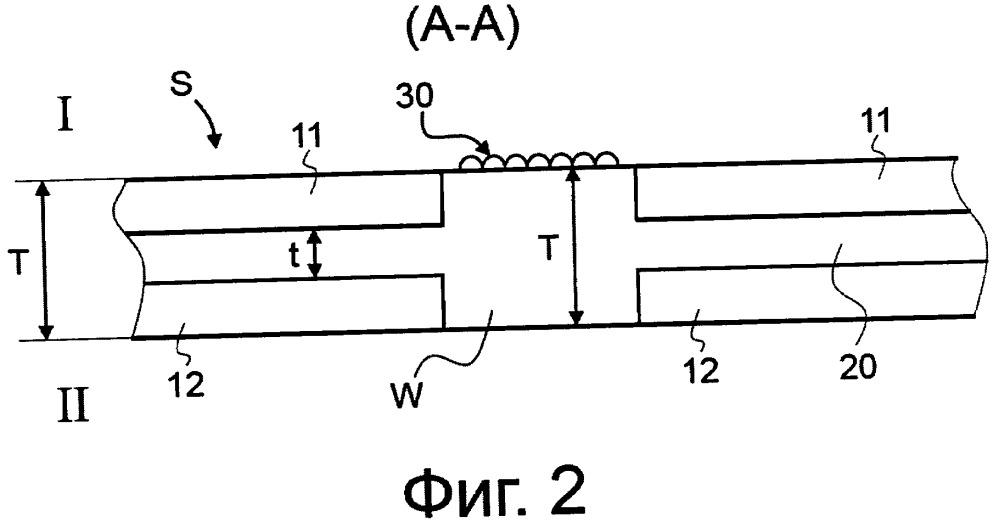 Подложка для защищенных бумаг и способ ее изготовления