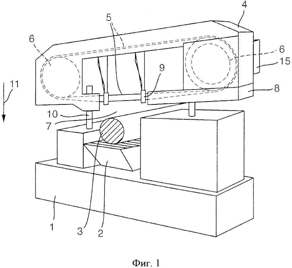 Фрезерно-отрезной станок и способ управления фрезерно-отрезным станком