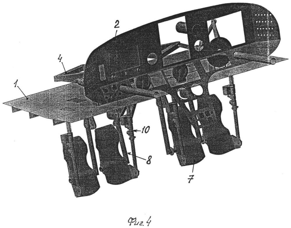 Платформа для размещения органов и средств управления летательным аппаратом