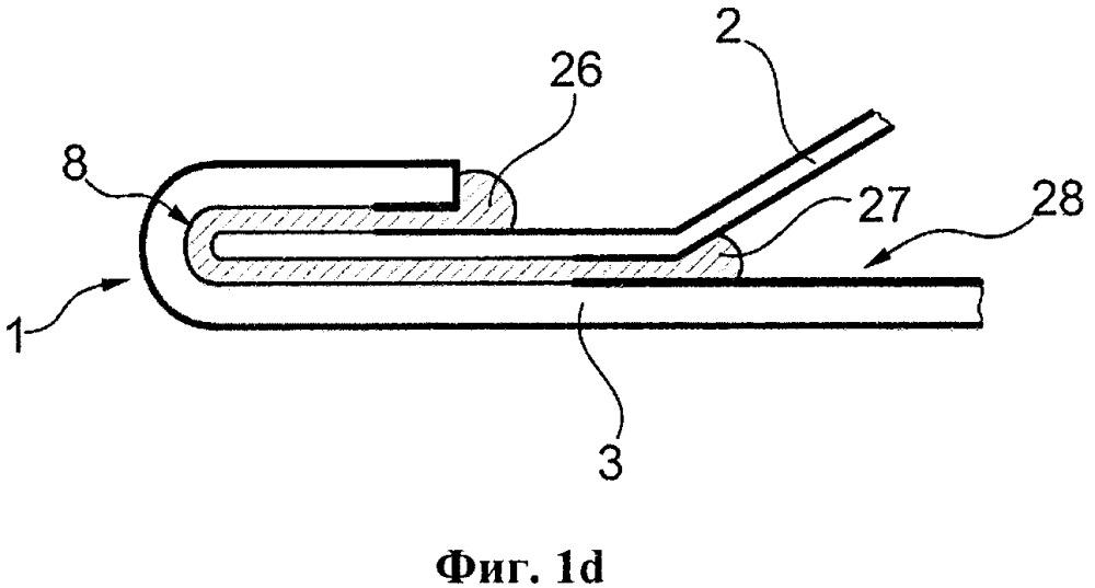 Способ изготовления шва с отбортовкой кромок