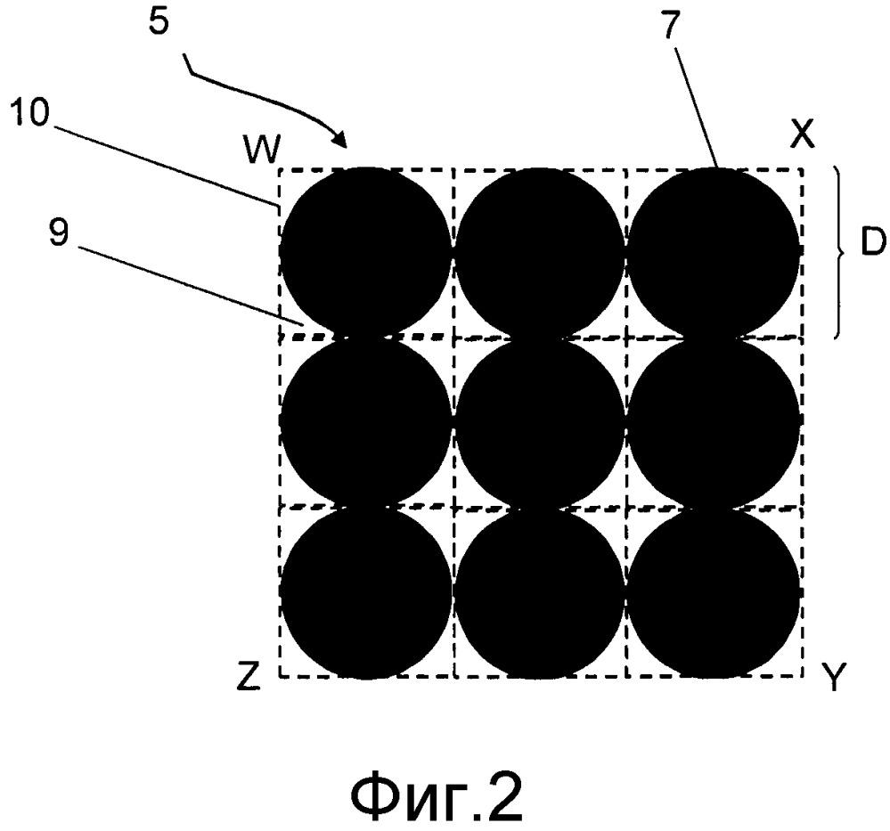 Шина, имеющая высококонтрастный рисунок, содержащий множество полостей