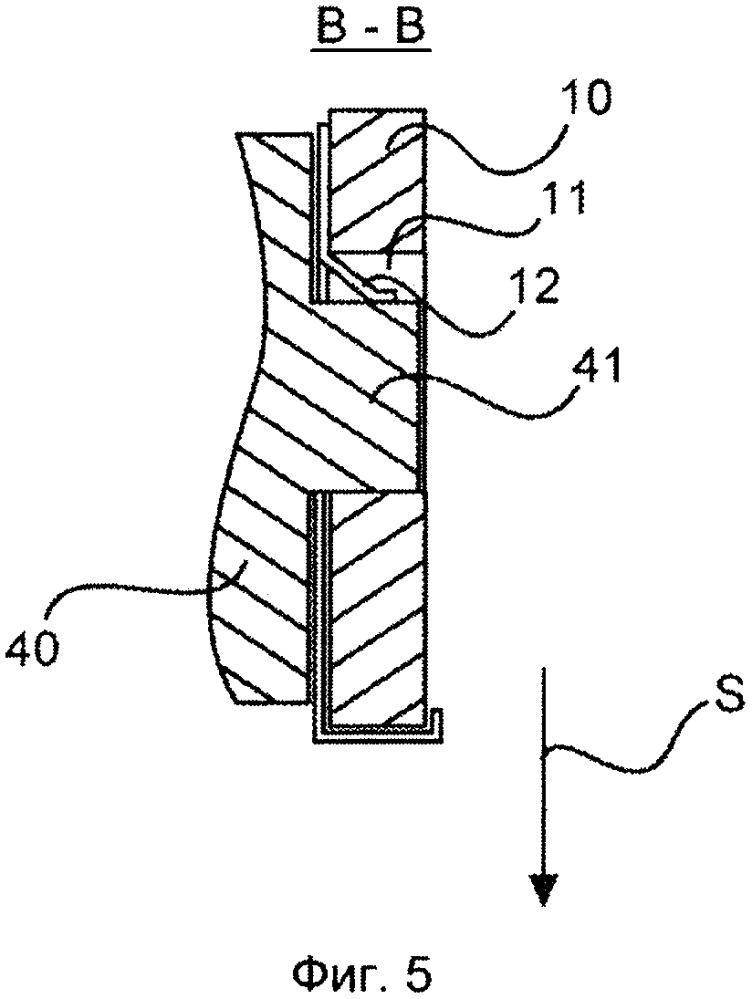 Крепежная рама для модулей штекерного соединителя