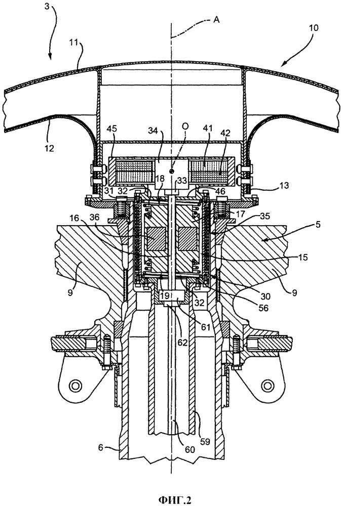 Винт приспособленного к зависанию летательного аппарата, содержащий устройство демпфирования вибрации