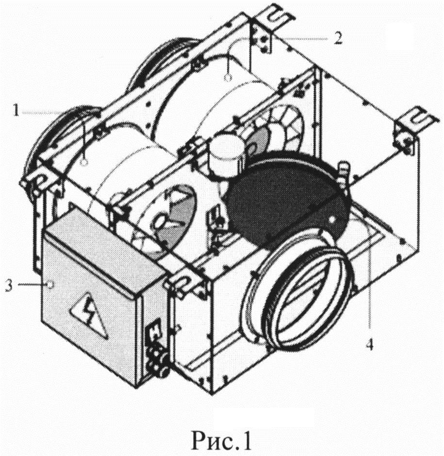 Способ работы приточно-вытяжной вентиляционной установки