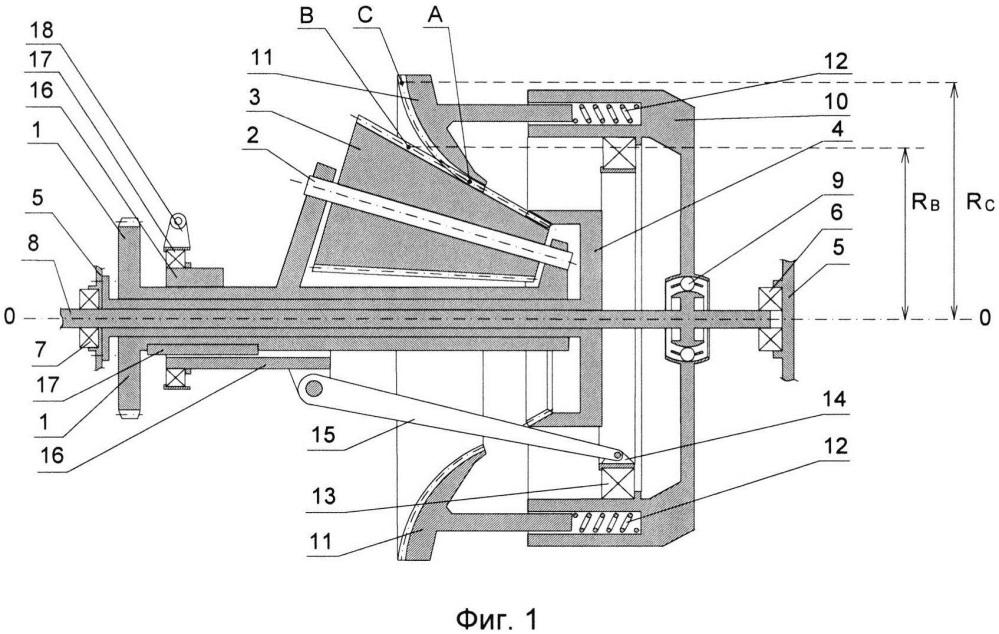 Механический зубчатый вариатор скорости планетарного типа с постоянным зацеплением и плавным изменением передаточного отношения
