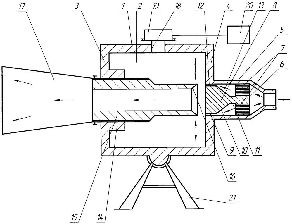 Инфразвуковой генератор