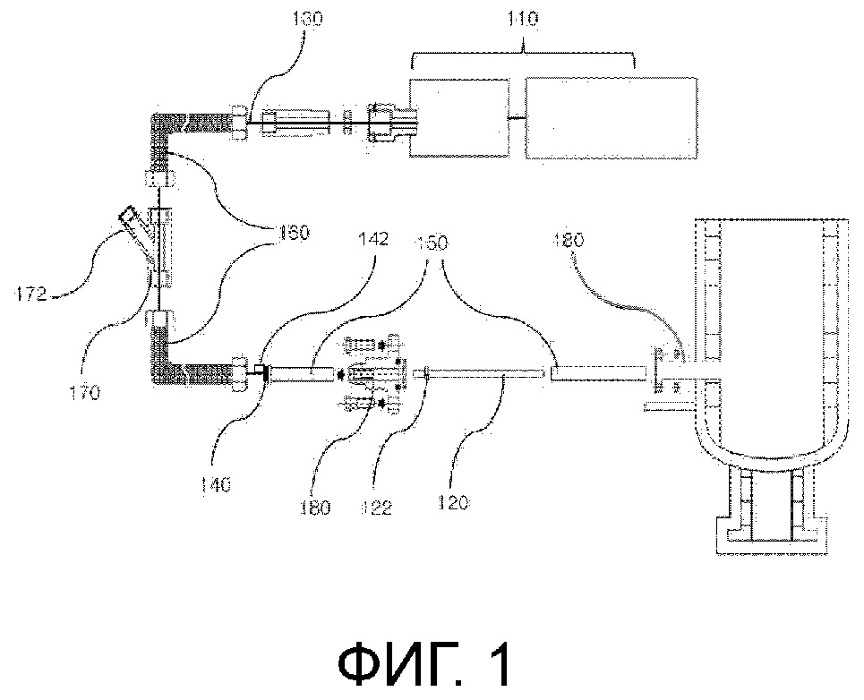 Устройство непрерывного измерения температуры и установка rh, содержащая это устройство