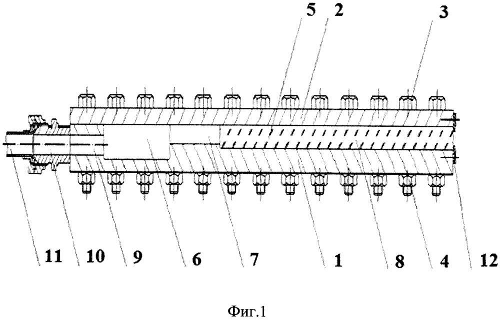 Пневматическое устройство для испытания конструкции двигателя летательного аппарата на ударное воздействие