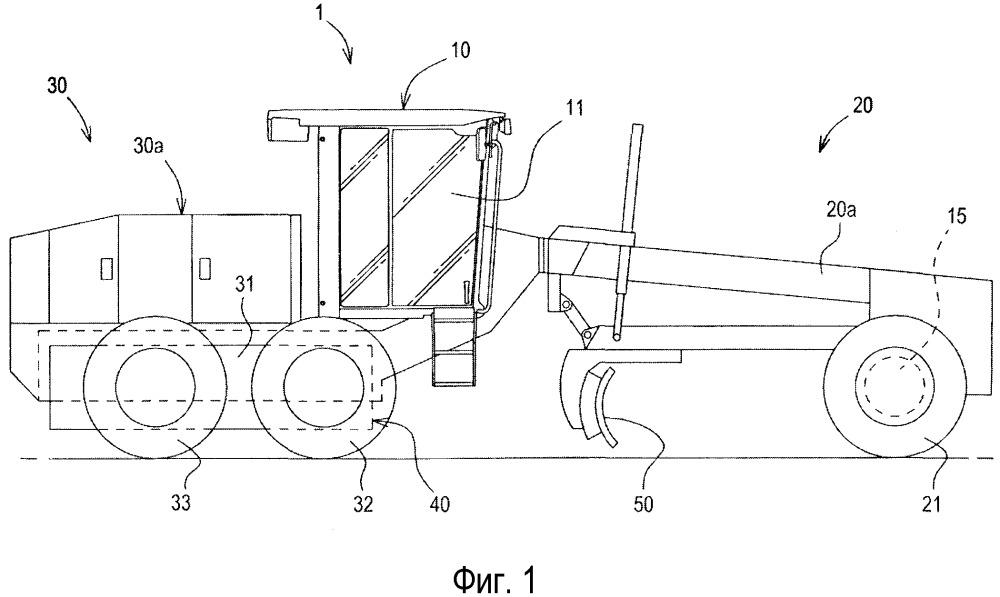 Управление приводом на передние колеса