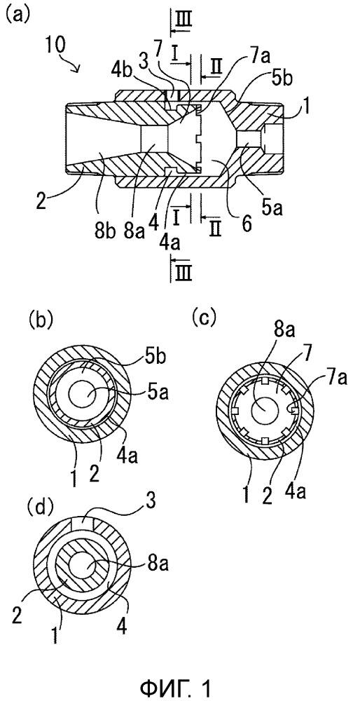 Форсунка для создания пузырьков с круговым потоком