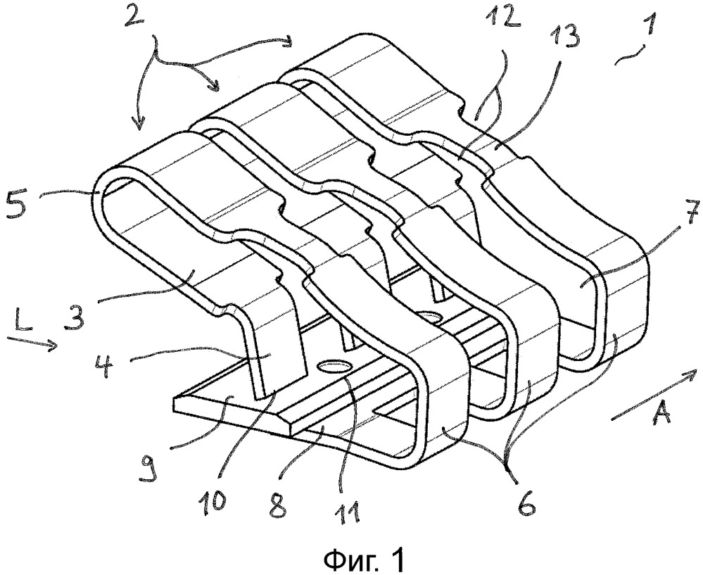 Пружинное клеммное соединение и соединительная клемма для проводников