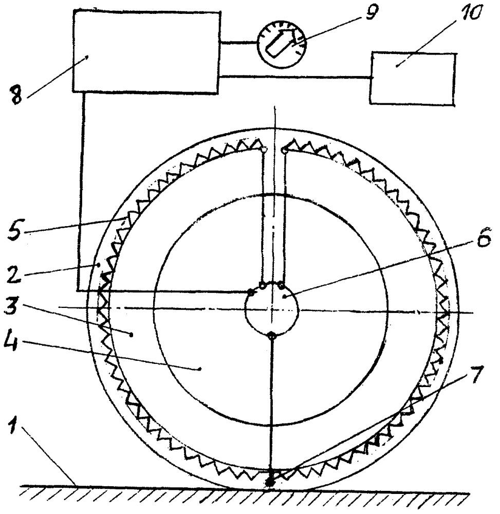 Способ повышения коэффициента сцепления шин мобильной машины с опорной поверхностью