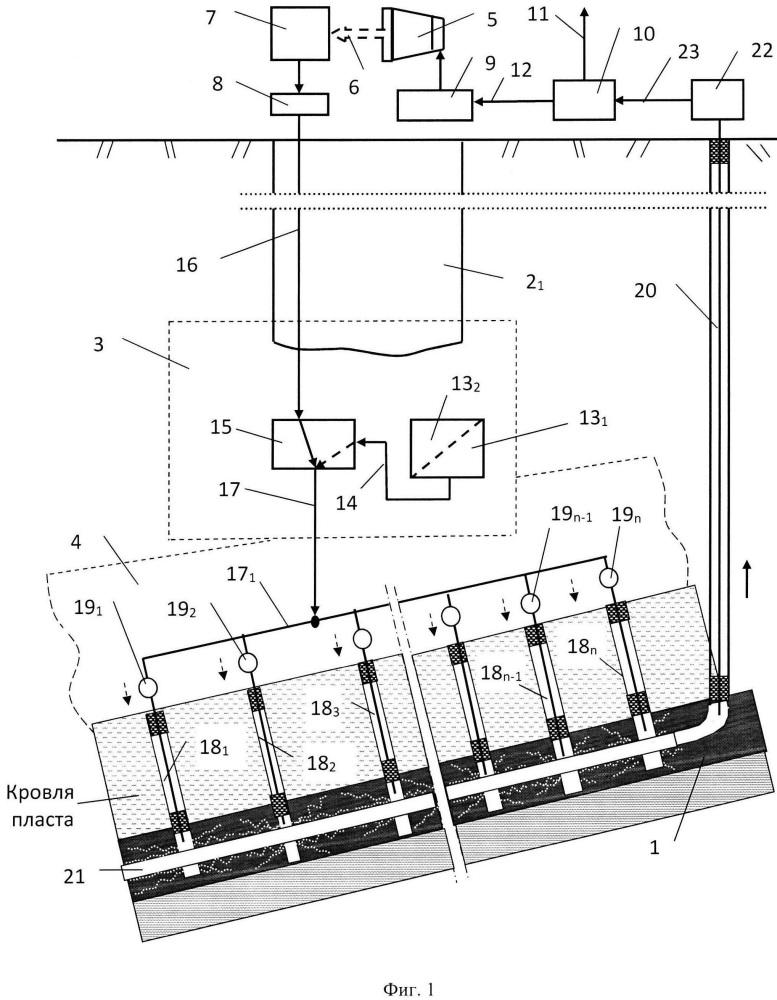 Шахтно-скважинный газотурбинно-атомный нефтегазодобывающий комплекс (комбинат)