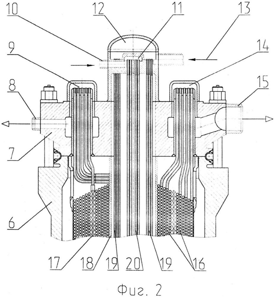 Система аварийного расхолаживания ядерного реактора