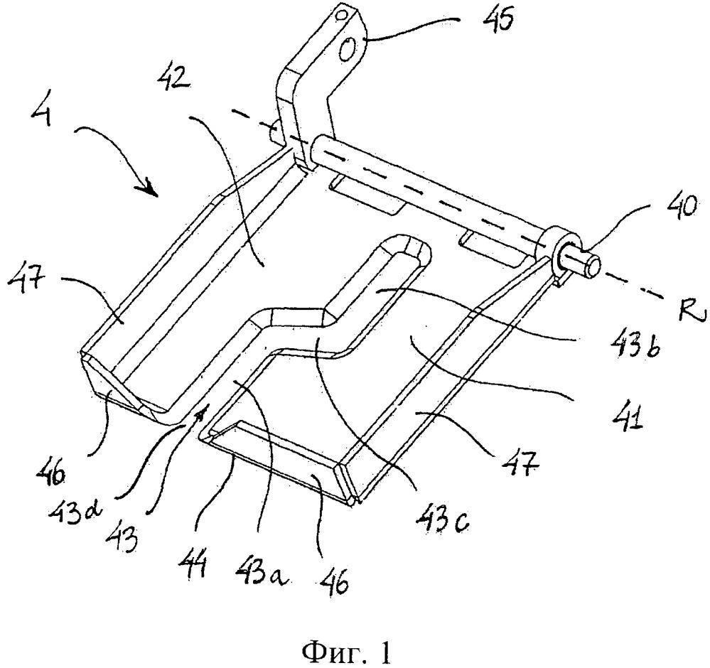 Направляющий элемент, направляющий узел, система и способ разделения набора внутренних органов, извлеченных из забитой домашней птицы