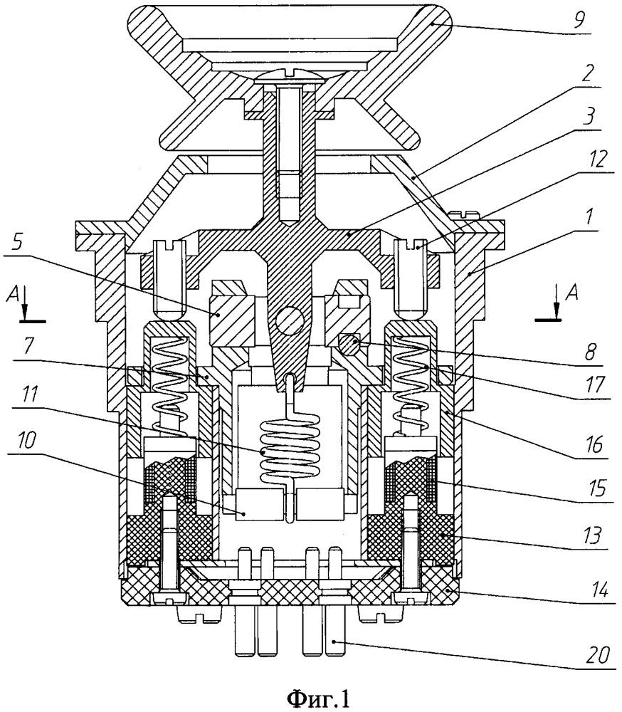 Двухкоординатный преобразователь угловых перемещений