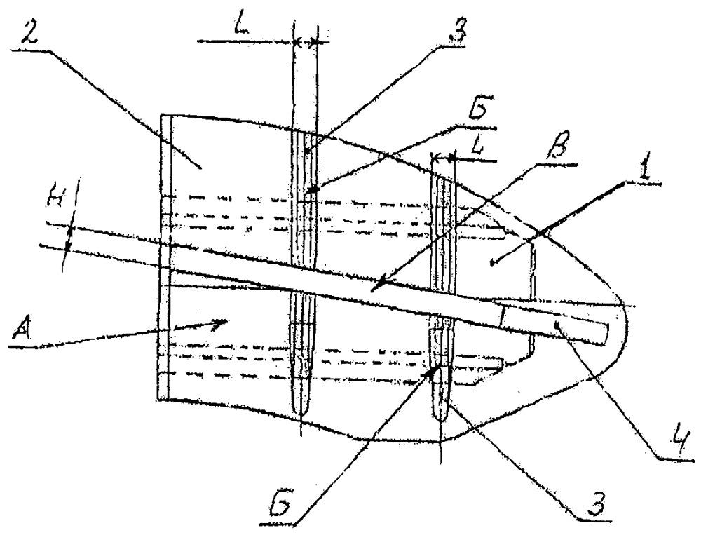 Накладка тормозная дискового тормоза железнодорожного транспортного средства