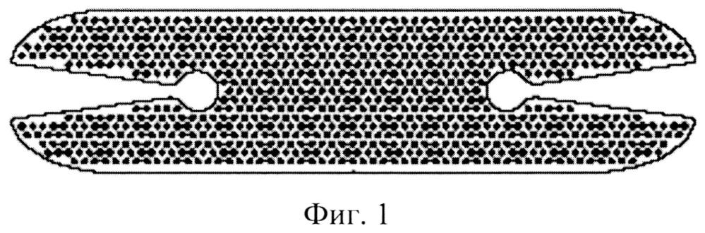 Полимерный эндопротез для замещения дефектов и устранения деформаций век