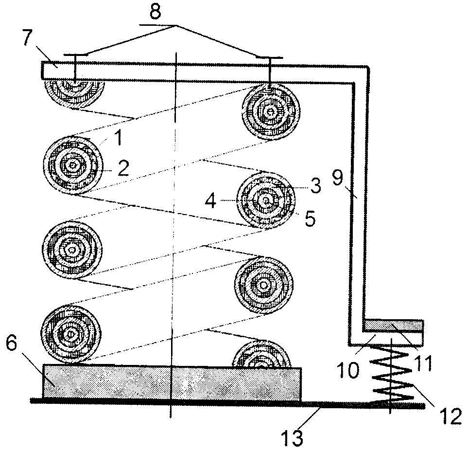 Комбинированный виброизолятор с вибродемпфирующей пружиной