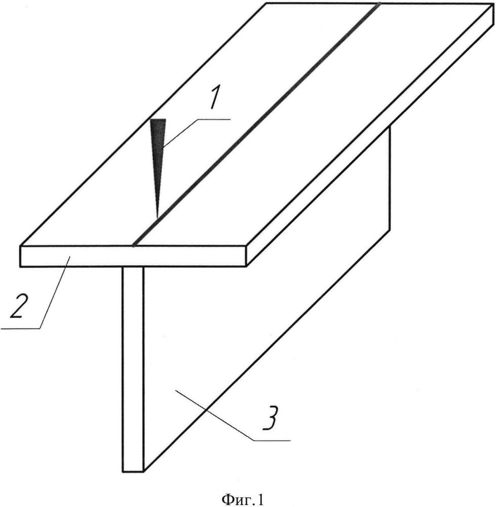 Способ изготовления тавровой балки лазерным лучом