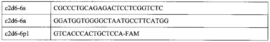 Способ определения генотипа человека по полиморфизму в гене цитохрома р450 cyp2d6*6 (1707delt) rs5030655