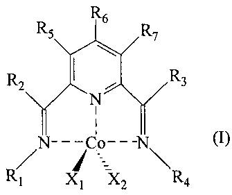 Способ получения сополимеров сопряженных диенов в присутствии каталитической системы, включающей бис-имино-пиридиновый комплекс кобальта