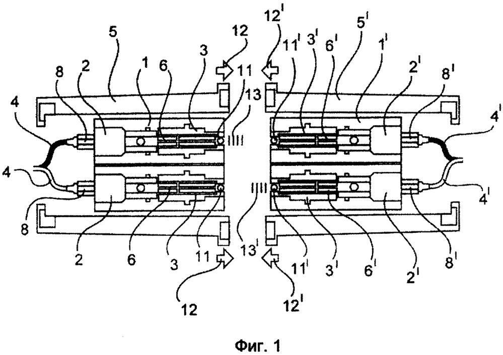 Оптический модуль для модульно выполненных промышленных штекерных соединителей