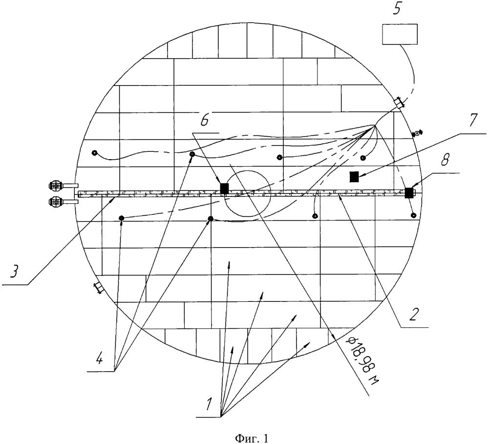 Способ низкотемпературного локального нагружения днища вертикальных стальных резервуаров при акустико-эмиссионном методе неразрушающего контроля