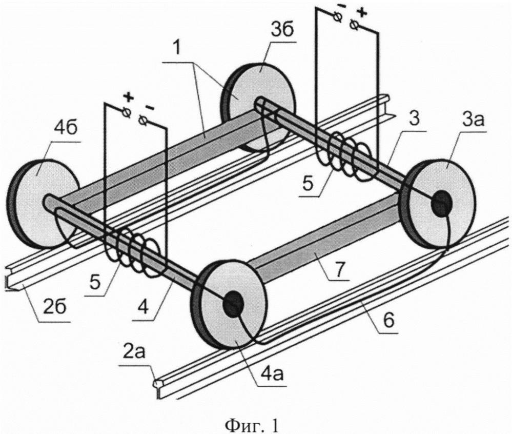 Устройство электромагнитно-акустического контроля рельсов