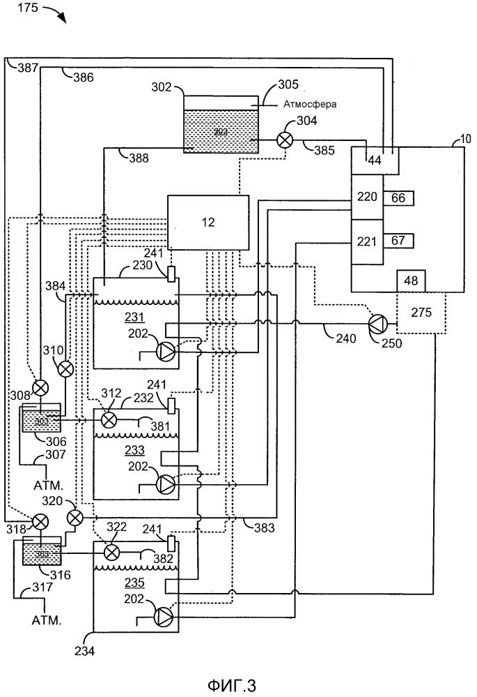 Способ работы двигателя (варианты)