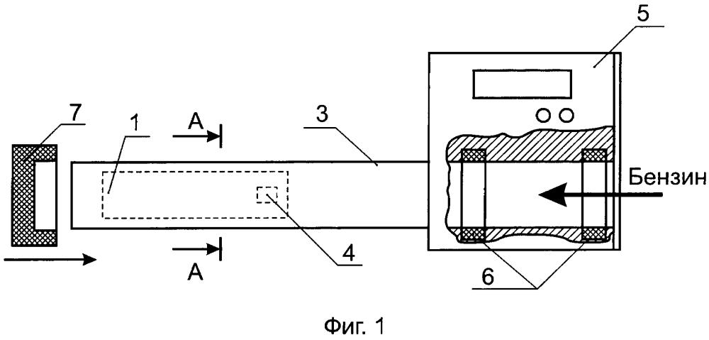 Устройство для оперативного определения октанового числа автомобильных бензинов