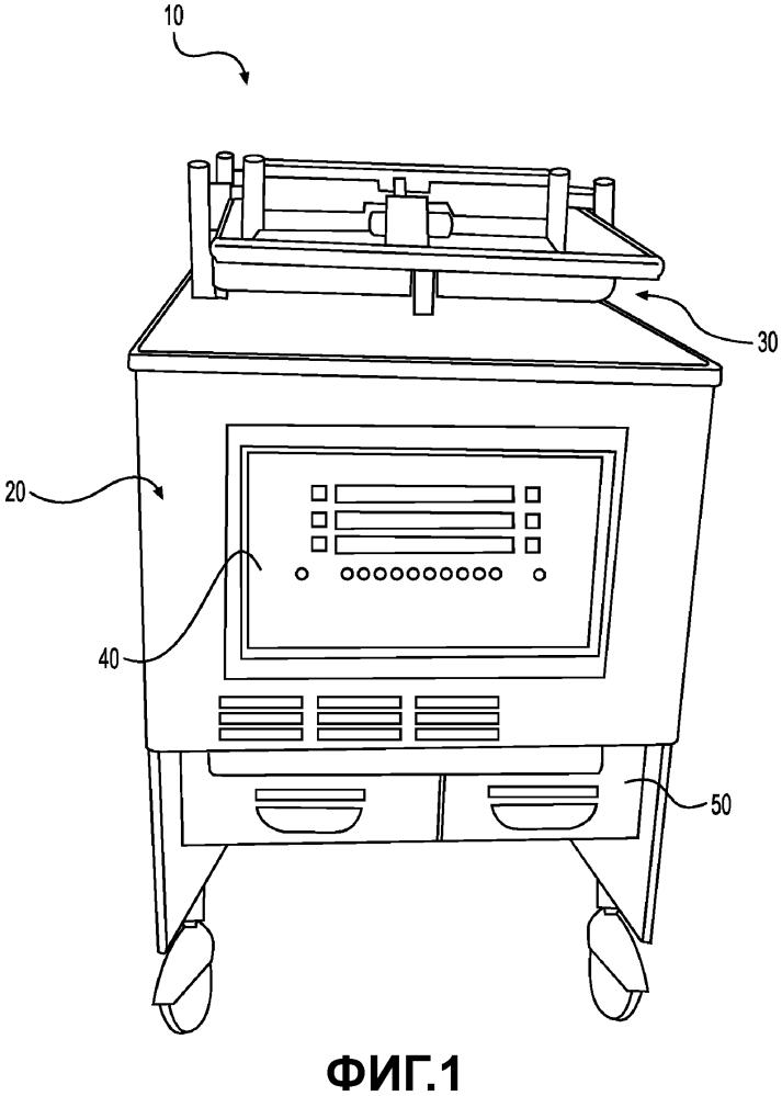 Средство повышения давления, предназначенное для фритюрницы для обжарки под давлением