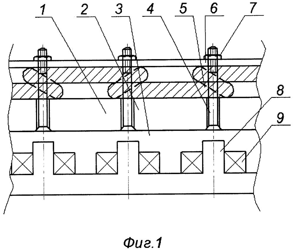 Торцевой ротор электродвигателя