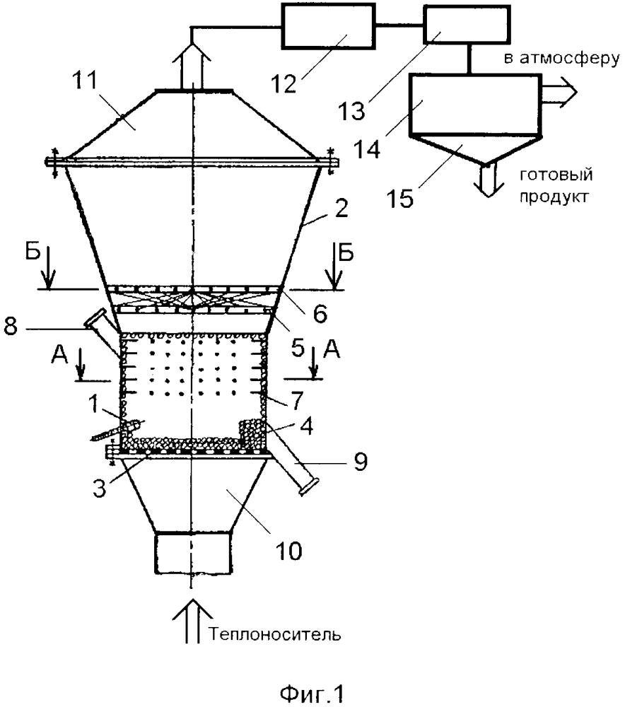 Распылительная сушилка с инертной насадкой