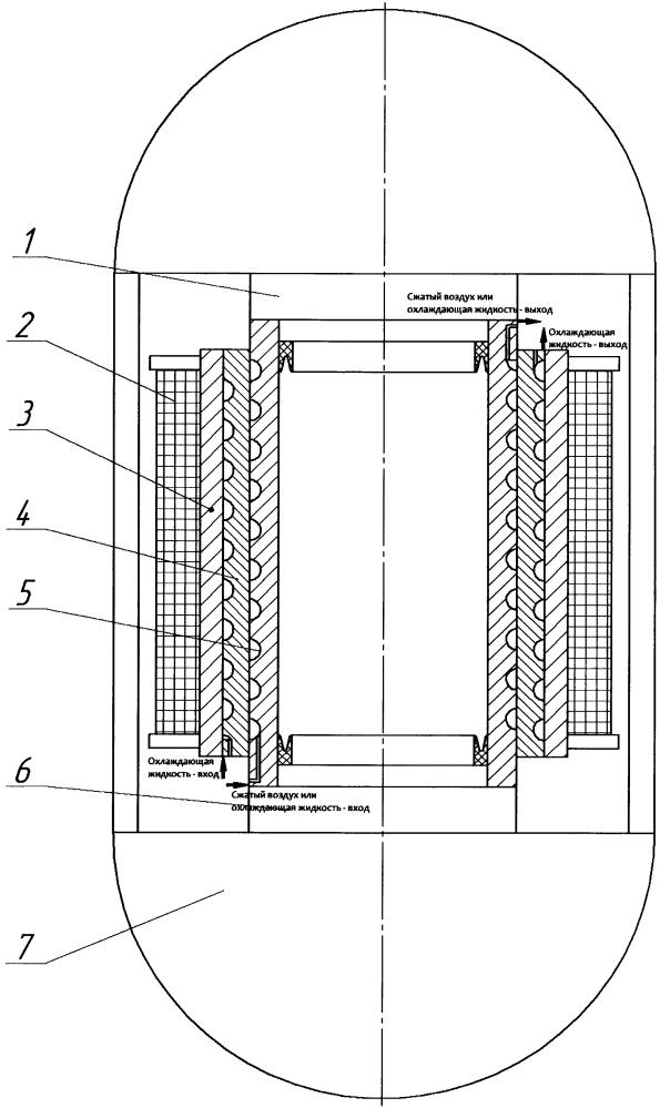 Установка гидростатического прессования с нагревом рабочей среды