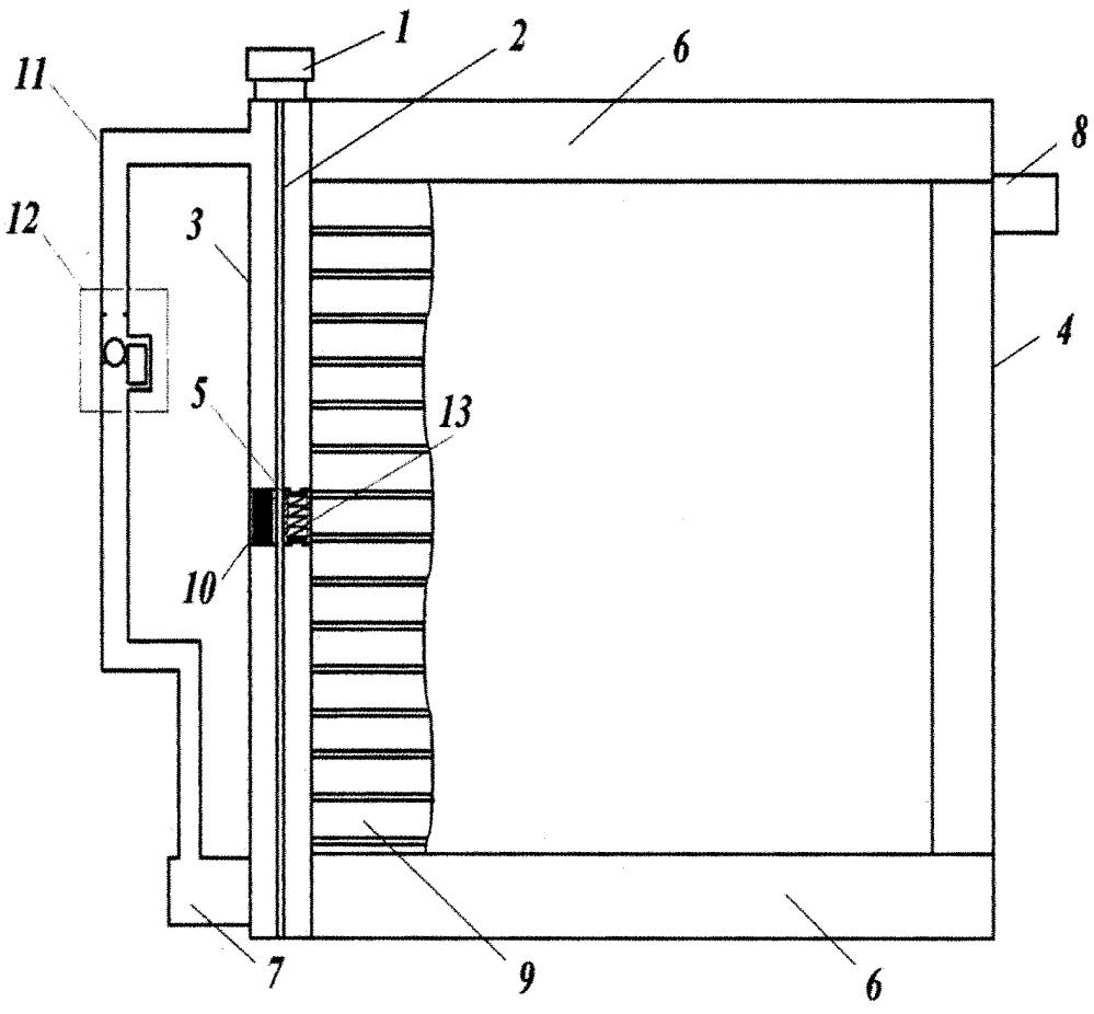 Радиатор системы охлаждения силовой установки транспортного средства